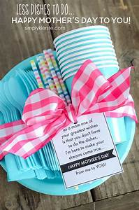 DIY Gifts Ideas : A Day of Less Dishes | Mother's Day Gift ...
