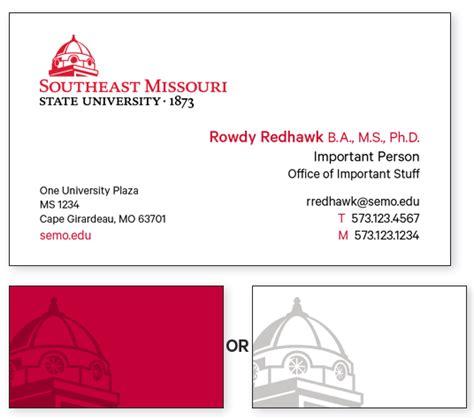 stationery southeast missouri state university