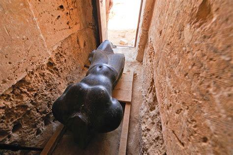 headless egypt king statue  link  cleopatras tomb