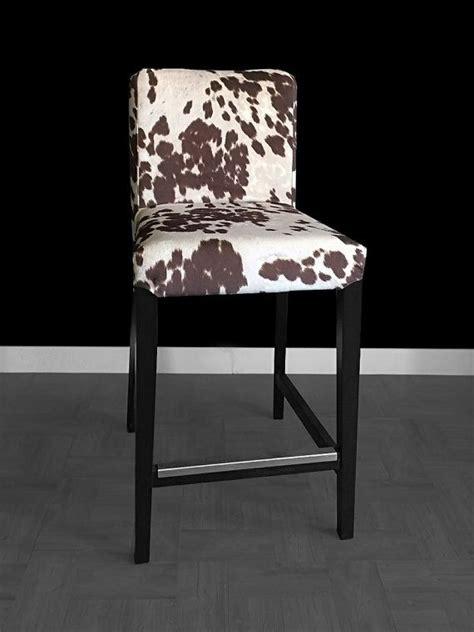 ikea henriksdal bar stool chair cover udder madness milk