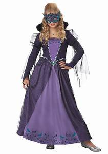 Girls Masquerade Costume - Halloween Costumes