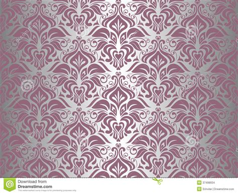 pink silver vintage wallpaper stock images image