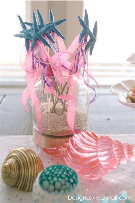 diy mermaid birthday party ideas  design loves detail design loves detail