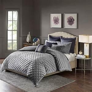 King, Sophisticate, Velvet, Comforter, Set, Micro, Fiber, Silk