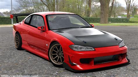 【Assetto Corsa】シルビア S15 VQ35仕様 | Nissan Silvia S15 VQ35 | アセット ...