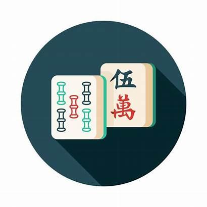 Mah Jongg Tiles Clip Vector Mahjong Icon