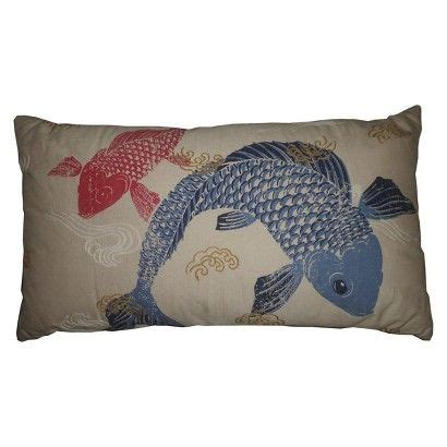 Target Bedroom Throw Pillows by Target Koi Fish Decorative Pillow Living Room