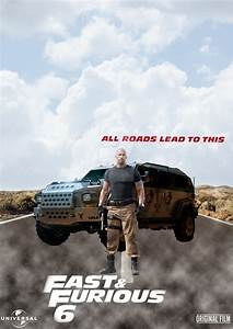 Fast And Furious 6 Luke Hobbs Character Poster by ...