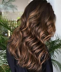 Balayage Cheveux Bouclés : 77 nuances de la couleur marron glac laquelle choisir ~ Dallasstarsshop.com Idées de Décoration