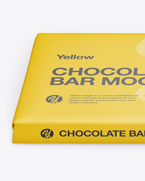 We're bringing you a free psd chocolate packaging mockup template. Paper Chocolate Bar Mockup - Front View (High Angle Shot ...