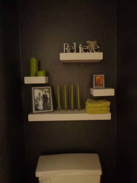 floating shelves above the toilet bathroom ideas