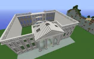 white house replica minecraft project
