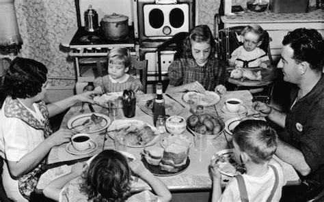 Are table manners a thing of the past? And if so, who is