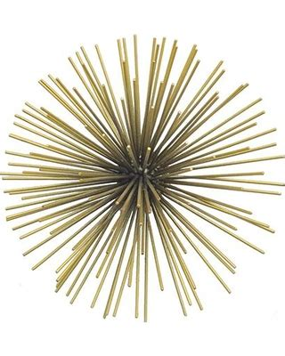 metal starburst wall decor new savings on starburst wall sculpture small gold 7474