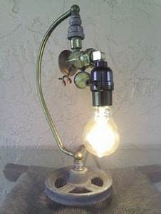 1000 images about repurposed lighting on pinterest With recycled metal floor lamp