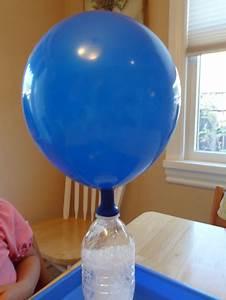 Balloon magic with baking soda and vinegar - Gift of Curiosity