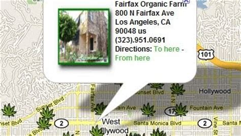 maps mania marijuana dispensaries  google maps