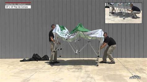 fast shade pop  canopy setup instructions youtube