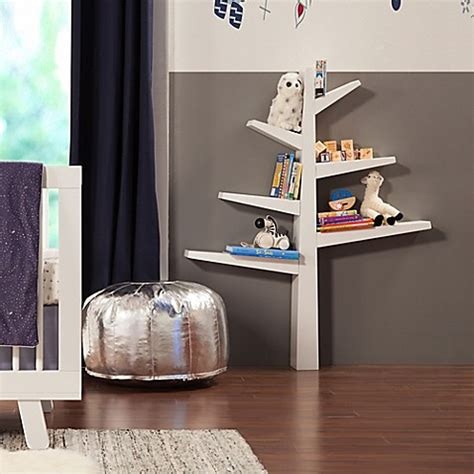 babyletto spruce tree bookcase babyletto spruce tree bookcase in white buybuy baby 4241