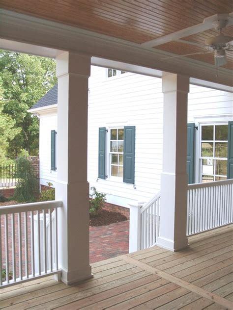porch columns traditional porch miami