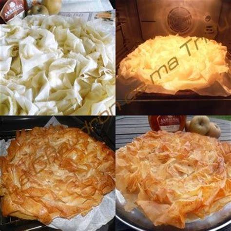 tourtiere aux pommes pate filo tourti 232 re landaise aux pommes flamb 233 es 224 l armagnac p 226 te filo paperblog