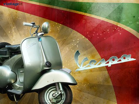 Piaggio Backgrounds by Vespa Vintage Wallpaper Wallpapers And Images Wallpapers