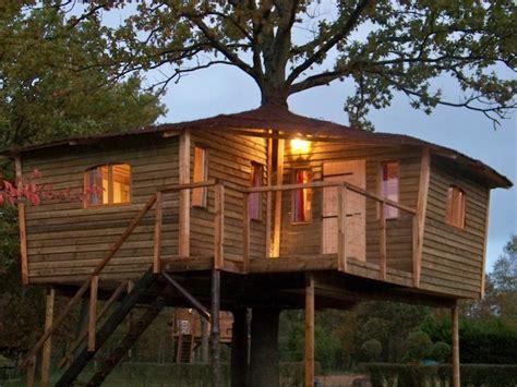 chambre d hote cabane dans les arbres cabane perchée maison de hobbit chambres d 39 hotes près de
