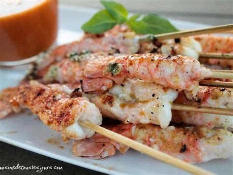 cuisiner la langouste recettes de queues de langoustine
