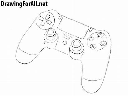 Draw Gamepad Drawing Drawingforall Dualshock