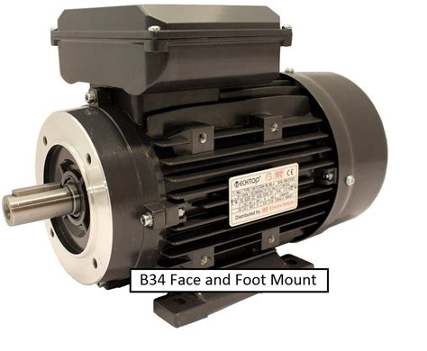 Electric Motors Uk by Tec Single Phase 240v Electric Motor Foot Flange And