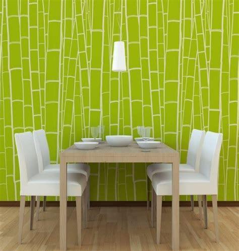 Wallpaper Dinding Ruang Tamu Minimalis Hijau