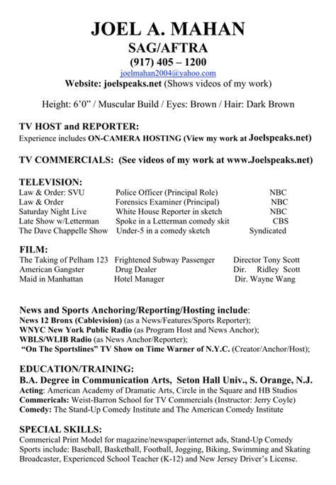 resume brandon kamerman sports reporter anchor