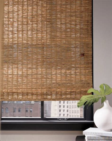 (NH) Natural Grass & Wood Shades   BAYSIDE BLIND & SHADE