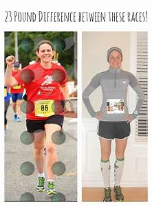 My running times greatly improved by losing weight and ...