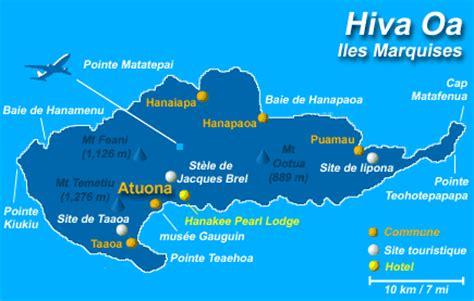 les iles marquises carte les marquises terre des hommes le des riviere
