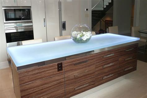 led kitchen faucets trends talking glass countertops with vladimir