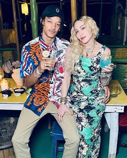 Madonna Birthday Boyfriend Jamaicans Irie Ecstatic Trip