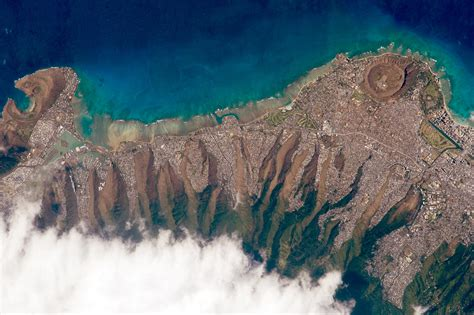 Images Of Satellite Image Of Honolulu Hawaii Image Free Stock