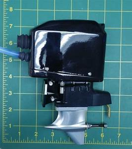 Tfl Scale Outboard With Sss 3660 Brushless Motor