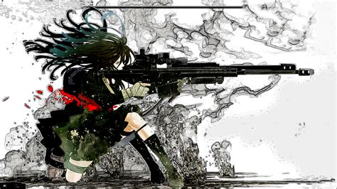 Anime With Gun Wallpaper - anime gun wallpaper wallpapersafari