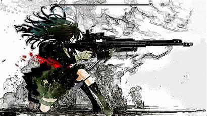 Shooting Anime Gun Wallpapers Desktop Manga Whats