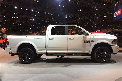 2017 Chicago Auto Show Ram Trucks Unveils Limited Edition