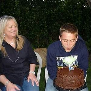 Cody and Paul's mom..Happy Mother's Day to u Cheryl Walker ...