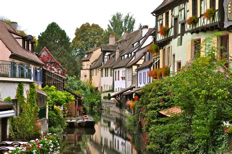 Colmar Alsace France Most Beautiful Places In The World