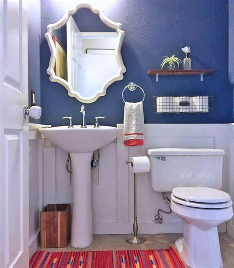 powder room makeover small decorative shelf  toilet tp holder wall mounted soap luma