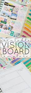 1000 images about goal planning printables on pinterest With vision board templates free