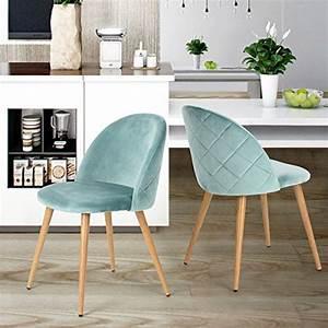 Sitz Sofa Für Esstisch : set von 2 esszimmer stuhl kaffee stuhl coavas samt kissen sitz und r cken k che st hle mit ~ Whattoseeinmadrid.com Haus und Dekorationen