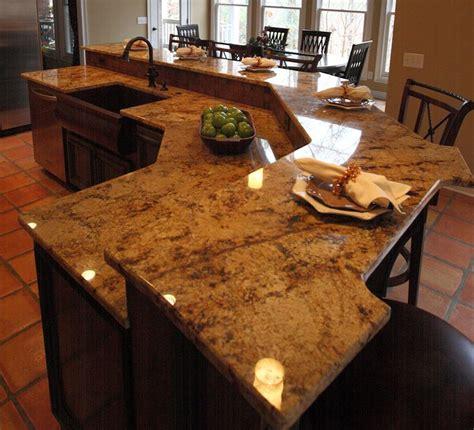 cuisine en granit une cuisine moderne avec un ilot central communiqué ilak