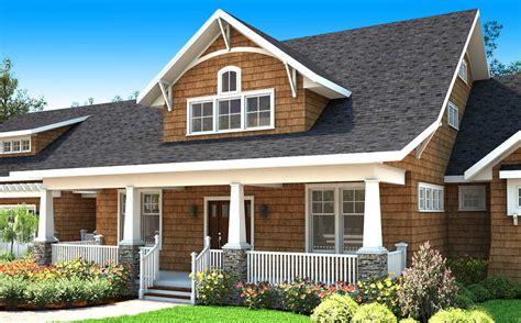 bungalow house plan  bonus room  balcony  architectural designs house plans