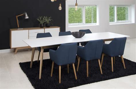 table a manger avec rallonge table 224 manger avec rallonge blanc laqu 233 marzo mobilier priv 233